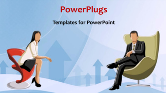 PowerPoint Template - Abstract business concept